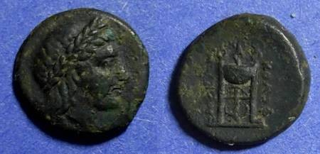 Ancient Coins - Kolophon, Ionia 330-310 BC, AE14