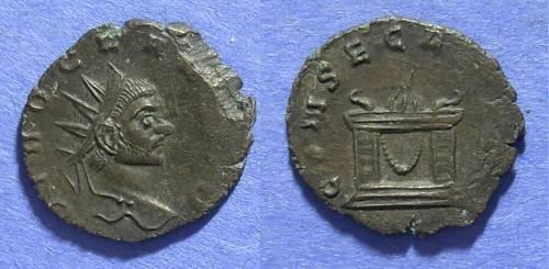 Ancient Coins - Roman Empire, Divo Claudius Gothicus d. 270AD, Antoninianus