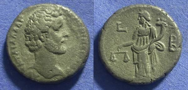 Ancient Coins - Roman Egypt – Antoninus Pius 138-161 Tetradrachm