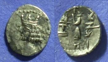 Ancient Coins - Persis - Ardashir II Circa 50-1 BC - Obol