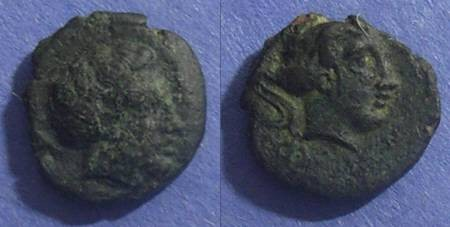 Ancient Coins - Phalanna, Thessaly 400-350 BC, AE14