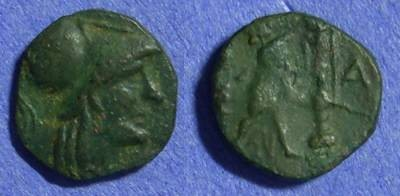 Ancient Coins - Macedonian Kingdom – Antigonos Gonatas 277-239BC AE13 imitative