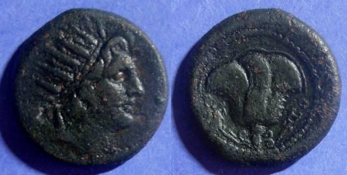 Ancient Coins - Rhodes,  120-84 BC, AE27