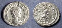 Ancient Coins - Roman Empire, Julia Paula 219-220, Denarius