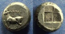 Ancient Coins - Thrace, Byzantion 387-340 BC, Tetradrachm