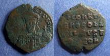 Ancient Coins - Byzantine Empire, Constantine VII 913-959, Follis