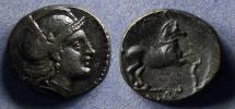 Ancient Coins - Thessaly, Skotussa Circa 250 BC, AE18
