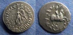 Ancient Coins - Bactria, Antimachos II 174-165 BC, Drachm