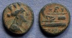 Ancient Coins - Phoenicia, Arados Circa 200 BC, AE14