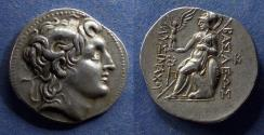 Ancient Coins - Kings of Thrace, Lysimachos 321-281 BC, Tetradrachm