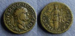 Ancient Coins - Roman Empire, Vespasian 69-79, Dupondius