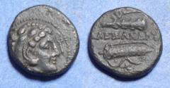 Ancient Coins - Kings of Macedonia, Alexander III 336-323 BC, Bronze AE17