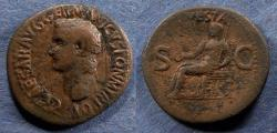Ancient Coins - Roman Empire, Caligula 37-41, Aes