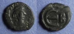 Ancient Coins - Byzantine Emprie, Anastasius 491-521, 5 Nummi