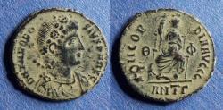 Ancient Coins - Roman Empire, Theodosius 379-395, AE3