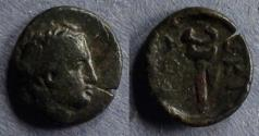 Ancient Coins - Islands off of Thessaly, Skiathos Circa 350 BC, AE13