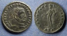 Ancient Coins - Roman Empire, Galerius (as Augustus) 305-11, Follis