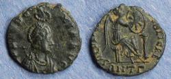 Ancient Coins - Roman Empire, Eudoxia 400-4, AE3
