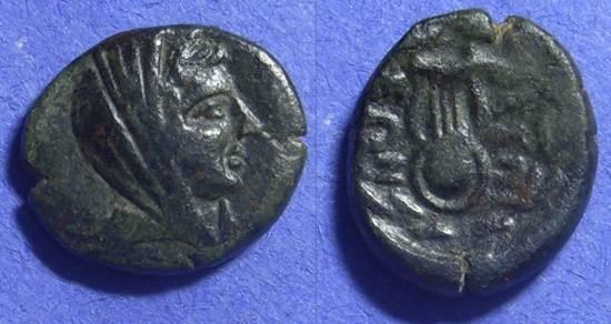 Ancient Coins - Thespiae Boeotia  AE16 300-250 BC