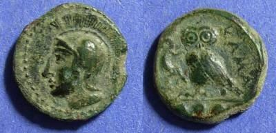 Ancient Coins - Sicily, Kamarina 425-405 BC, Tetras