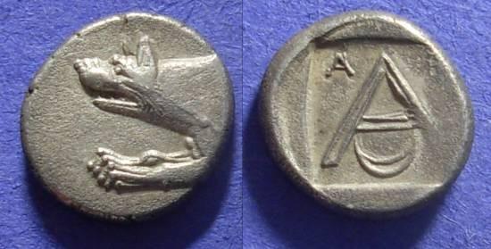 Ancient Coins - Argos – Hemidrachm   -  Circa 300 BC
