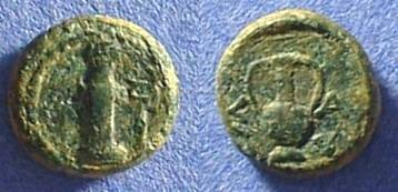 Ancient Coins - Sestos Thrace - AE12 300 BC
