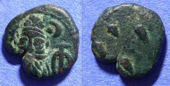 Ancient Coins - Elymais Orodes II - late second century - AE Drachm