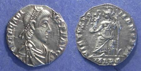 Ancient Coins - Roman Empire, Arcadius 383-408 AD, Siliqua