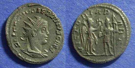 Ancient Coins - Roman Empire Valerian Jr. (Caesar) 256-258 Antoninianus