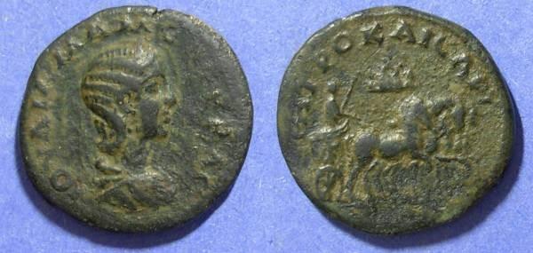 Ancient Coins - Caesarea Cappadocia, Julia Mamaea 222-235, AE27