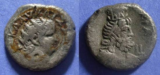 Ancient Coins - Roman Egypt, Nero 54-68, Tetradrachm (ex Jewelry)