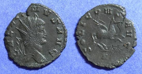 Ancient Coins - Gallienus 253-268AD Antoninianus - Pegasus reverse