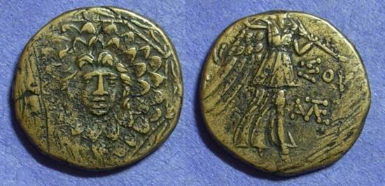 Ancient Coins - Amisos Pontos - AE21 Circa 100 Time of Mithradates