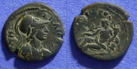 Ancient Coins - Miletos Ionia - AE15 circa 1st-2nd Century AD