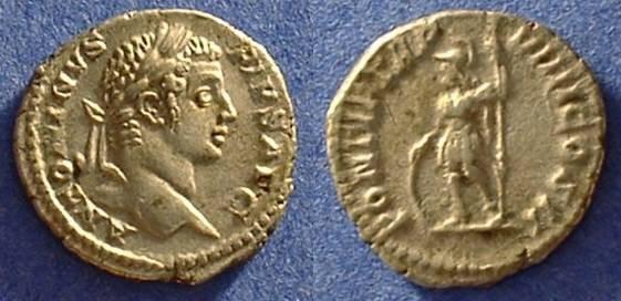Ancient Coins - Caracalla 198-217AD Denarius