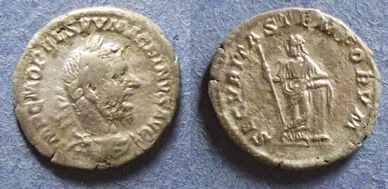 Ancient Coins - Roman Empire, Macrinus 217/8, Denarius