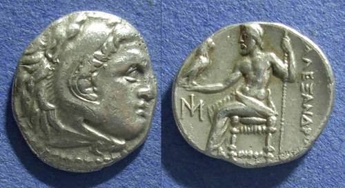 Ancient Coins - Macedonia, Alexander III (Posthumous) Struck 290-275, Drachm