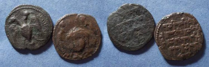 World Coins - Zangids, Nasir al-Din Mahmud 597-619 AH - 1200-1222 AD, Two Dirhems