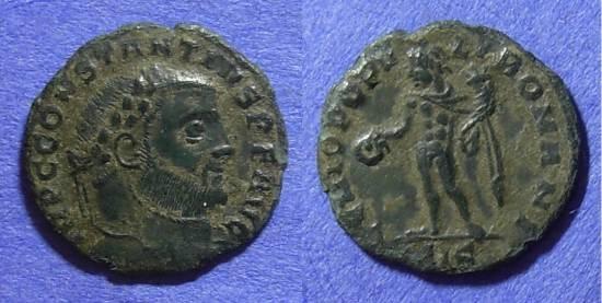 Ancient Coins - Constantius I (as Augustus) 305-6AD – ¼ Follis
