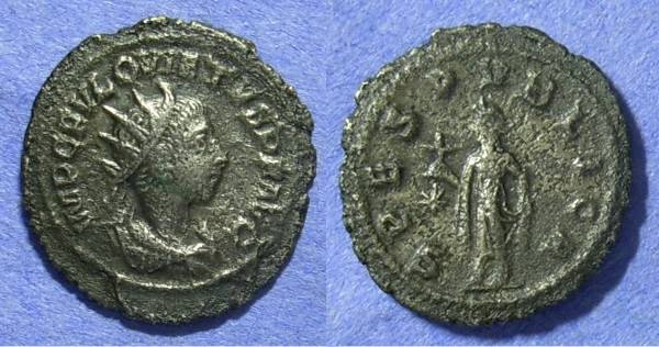 Ancient Coins - Quietus – Usurper in the east 260/1 Antoninianus