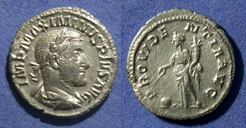 Ancient Coins - Roman Empire, Maximinus 235-8, Denarius