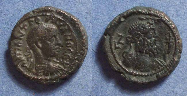 Ancient Coins - Roman Egypt, Gordian III 238-44, Tetradrachm