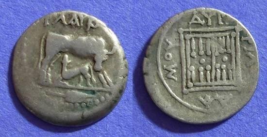 Ancient Coins - Dyrrachium Illyria - Drachm - Circa 200 BC
