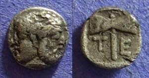 Ancient Coins - Tenedos: Island off Troas, Obol Circa 480-450 BC