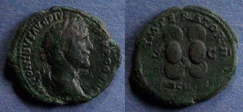 Ancient Coins - Roman Empire, Antoninus Pius 138-161, Aes