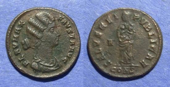 Ancient Coins - Roman Empire, Fausta d. 327AD, AE3
