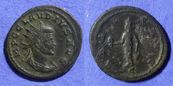Ancient Coins - Claudius II 268-270 Antoninianus - Isis reverse