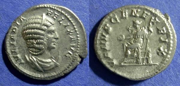 Ancient Coins - Roman Empire, Julia Domna 193-217, Antoninianus
