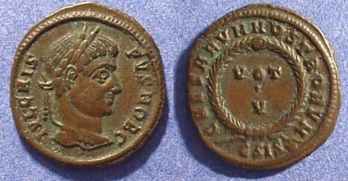 Ancient Coins - Crispus (Caesar) 316-326 AD AE3