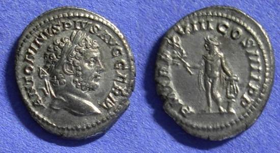 Ancient Coins - Roman Empire – Caracalla 198-217AD Denarius
